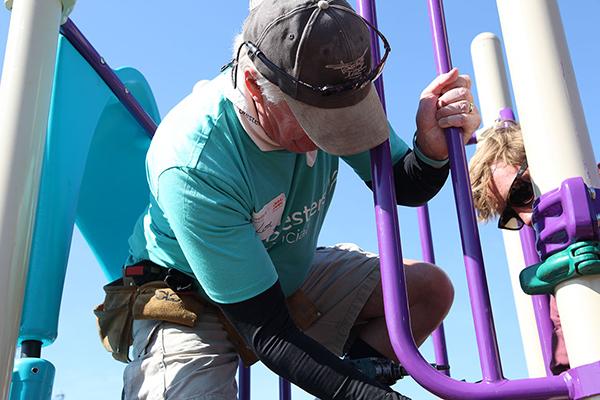 150 playgrounds celebration