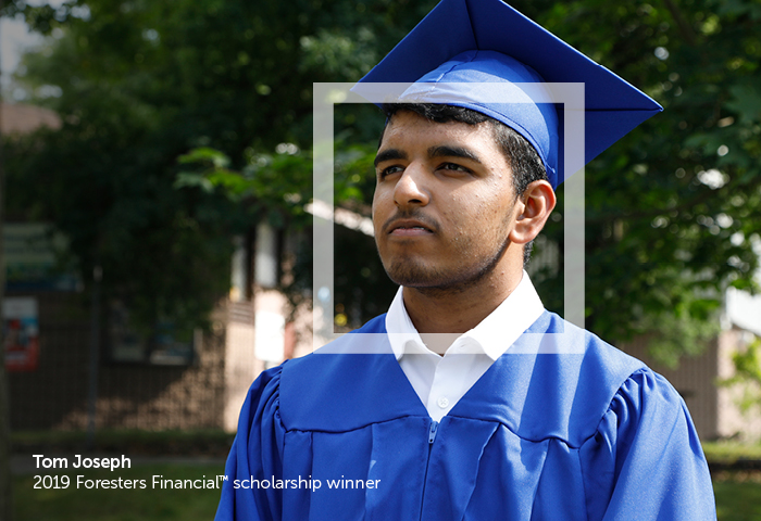 Graduate for scholarship campaign