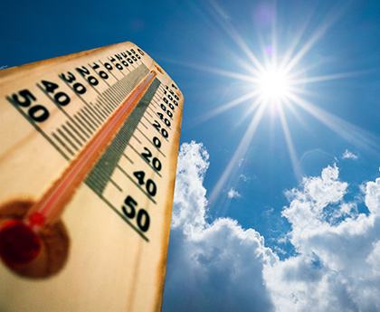 Be prepared for summer's extreme weather